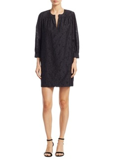 Elizabeth and James Heidi Clipped Jacquard Shift Dress