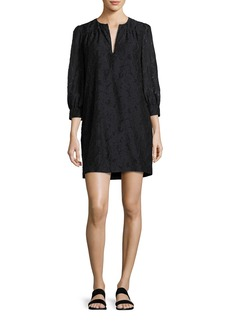 Elizabeth and James Heidi Full-Body Three-Quarter Sleeve Dress
