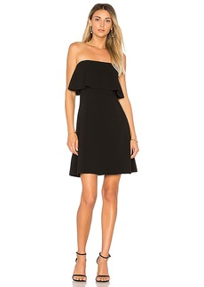 Elizabeth and James Hickory Mini Dress in Black. - size 0 (also in 2,4,8)