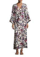 Elizabeth and James Howe Long-Sleeve Kimono Robe Dress