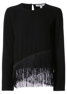 Elizabeth And James Hudson fringed top - Black