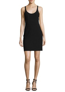 Elizabeth and James Huette Fitted Sleeveless Mini Sheath Dress