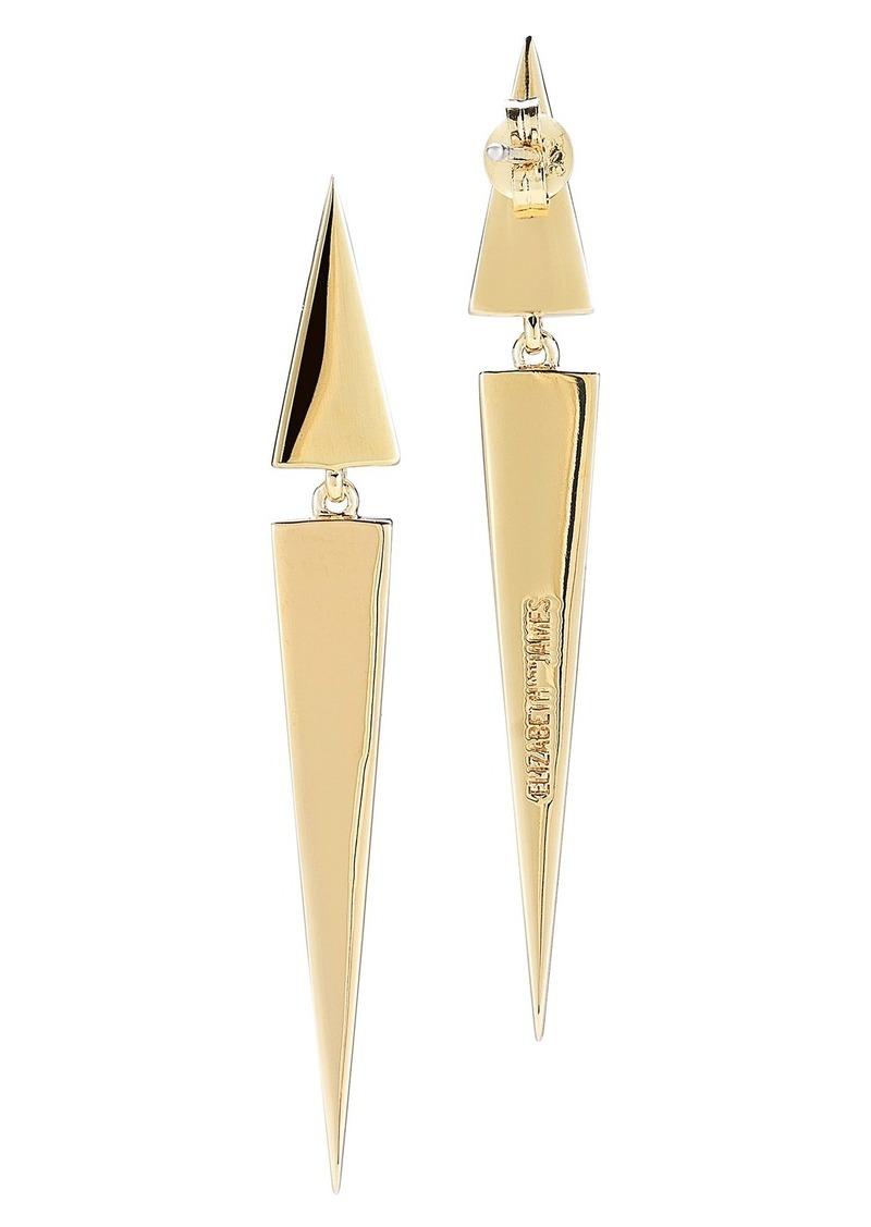 Elizabeth and James 'Itten' Linear Earrings