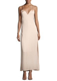 Elizabeth and James Jericho Double Spaghetti Strap Maxi Dress