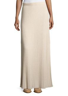 Elizabeth and James Joelle Rib-Knit Column Maxi Skirt