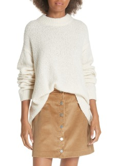 Elizabeth and James Josette Oversized Bouclé Sweater