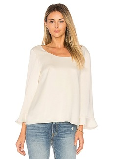 Elizabeth and James Karlotta Blouse in Ivory. - size M (also in S,XS)