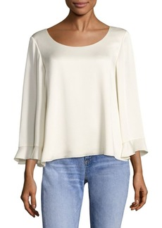 Elizabeth and James Karlotta Ruffled Scoopback Top