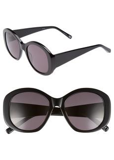 Elizabeth and James Kay 54mm Round Sunglasses