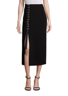 Elizabeth and James Kira Lace-Up Midi Skirt