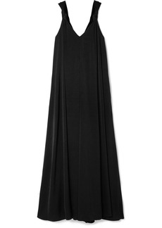 Elizabeth and James Laverne Knotted Cady Maxi Dress