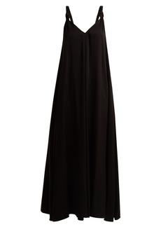 Elizabeth And James Laverne V-neck crepe dress