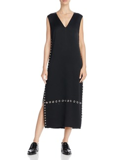 Elizabeth and James Leigh Grommet-Detail Maxi Dress