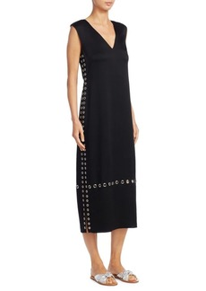 Elizabeth and James Leigh Grommet Midi Dress