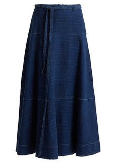 Elizabeth And James Leila A-line denim skirt