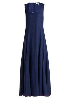 Elizabeth And James Lenox sleeveless linen-blend dress
