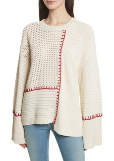 Elizabeth and James Lois Crochet Sweater