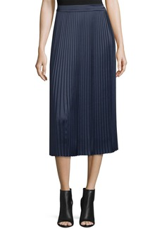 Elizabeth and James Lucy Pleated Tea-Length Skirt