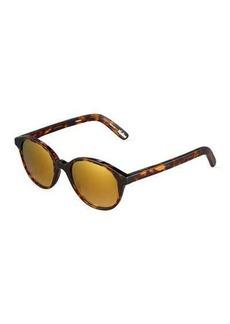 Elizabeth and James Madison Round Havana Plastic Sunglasses