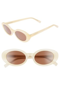 Elizabeth and James McKinely 51mm Oval Sunglasses