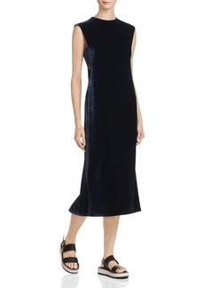 Elizabeth and James Michelle Cutout Velvet Midi Dress