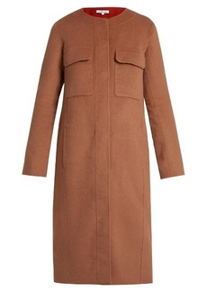 Elizabeth And James Miller round-neck double-faced wool-blend coat