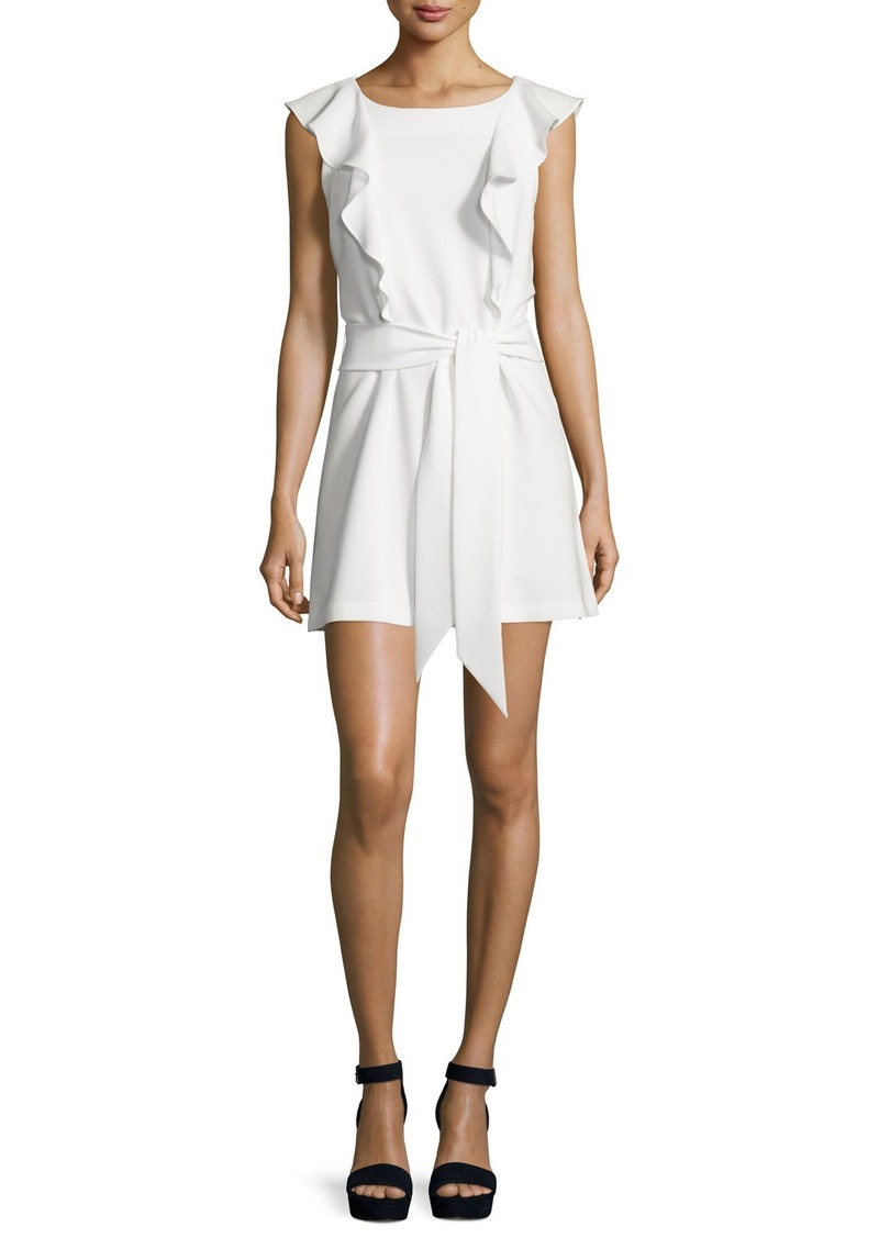 Elizabeth and James Millette Ruffle-Trim Mini Dress