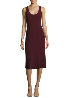 Elizabeth and James Mireille Sleeveless Scoop-Neck Ponte Dress