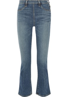 Elizabeth and James Nerd cropped mid-rise flared jeans