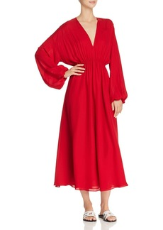 Elizabeth and James Norma Silk Caftan Dress