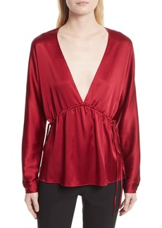 Elizabeth and James Ophelie Stretch Silk Blouse