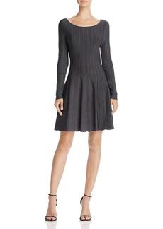 Elizabeth and James Oren Ribbed A-Line Dress