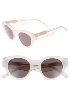 Elizabeth and James Payton 48mm Cat Eye Sunglasses