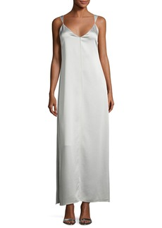 Elizabeth and James Pearl Sleeveless Satin Slip Gown