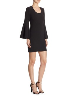 Elizabeth and James Philippa Bell-Sleeve Sheath Dress