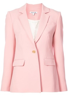 Elizabeth And James plain classic blazer - Pink & Purple