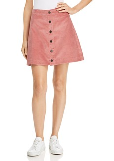 Elizabeth and James Prewitt Corduroy Mini Skirt