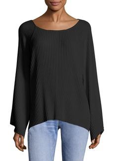 Elizabeth and James Reagan Pleated Top