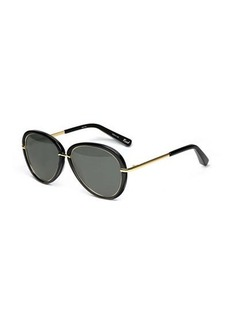 Elizabeth and James Reed Aviator Sunglasses