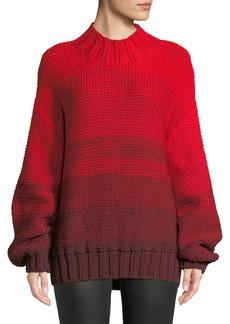 Elizabeth and James Reve Degrade Wool High-Neck Sweater