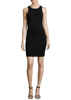 Elizabeth and James Ritter Sleeveless Body-Con Mini Dress  Black