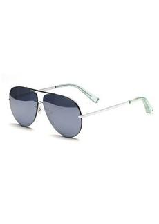 Elizabeth and James Ryder Mirrored Aviator Sunglasses
