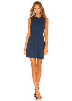 Elizabeth and James Rye Ribbed Dress
