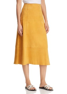 Elizabeth and James Ryker Suede Skirt