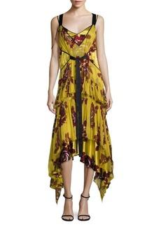 Elizabeth and James Sable Printed Slip Dress