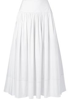 Elizabeth and James Shirley Cotton-blend Poplin Maxi Skirt