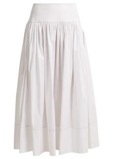 Elizabeth And James Shirley cotton-blend skirt