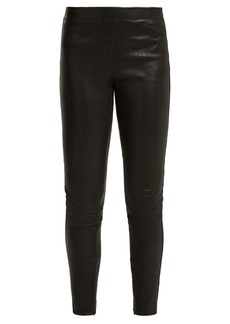 Elizabeth And James Sterling stretch-leather leggings