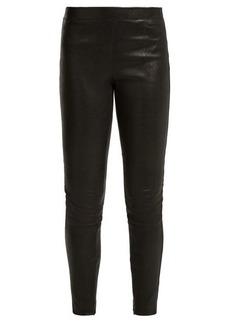 Elizabeth And James Sterling stretch-leather leggings