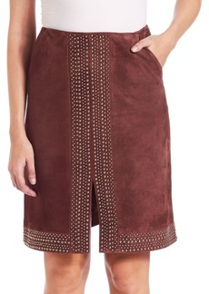Elizabeth and James Suede Riva Skirt